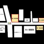 矢ヶ部医院の新築工事における駐車場のご案内